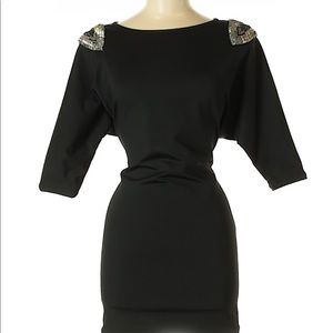Perfect black Elizabeth and James dress